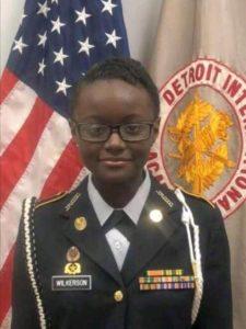 cadet LaShaun Wilkerson